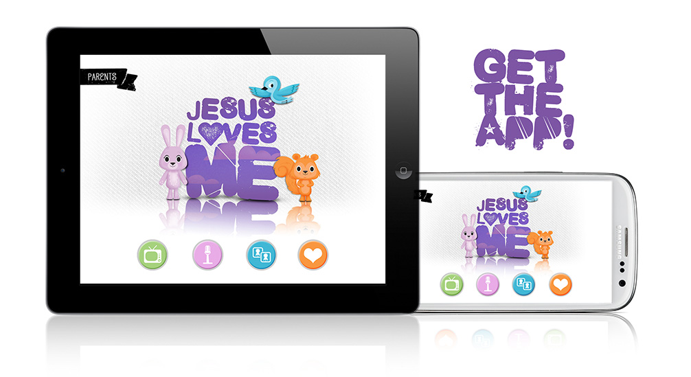 Jesus Loves Me APP